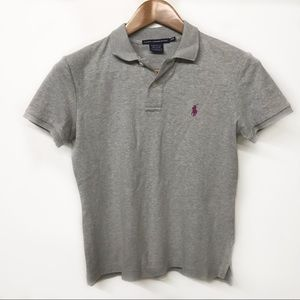Small Woman's Polo CLASSIC FIT Grey